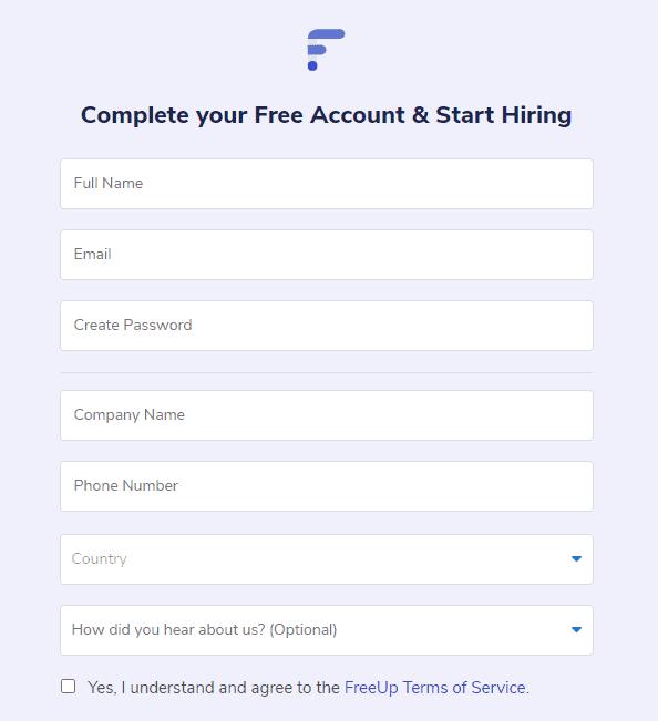 freeup find freelancers