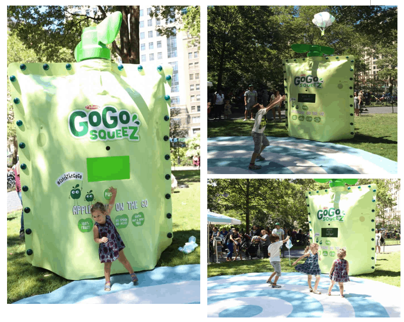 gogo squeez brand activation