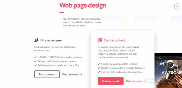 99designs find freelancers