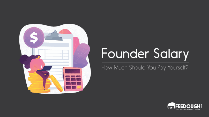 startup founder salary