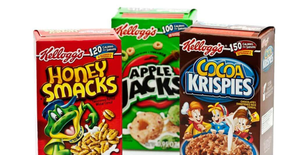 cereal primary packaging
