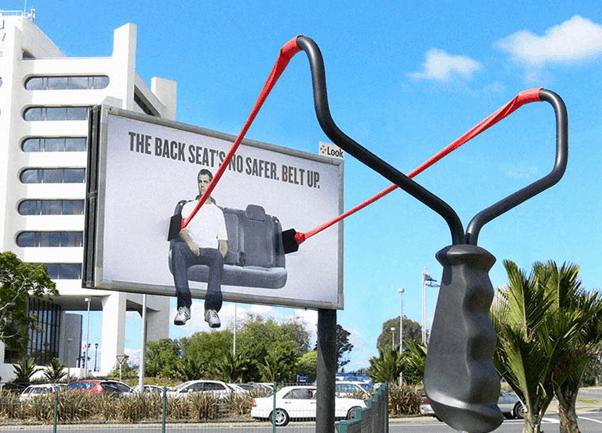 outdoor advertisement