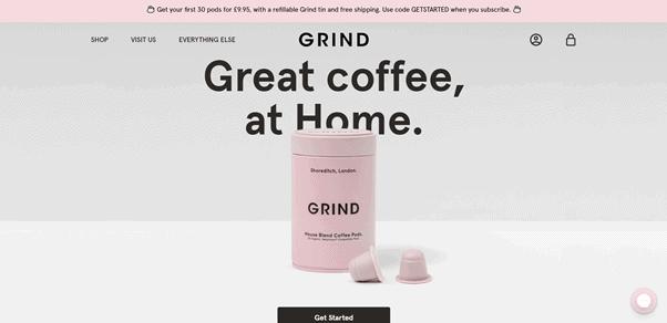 Grind D2C Brand