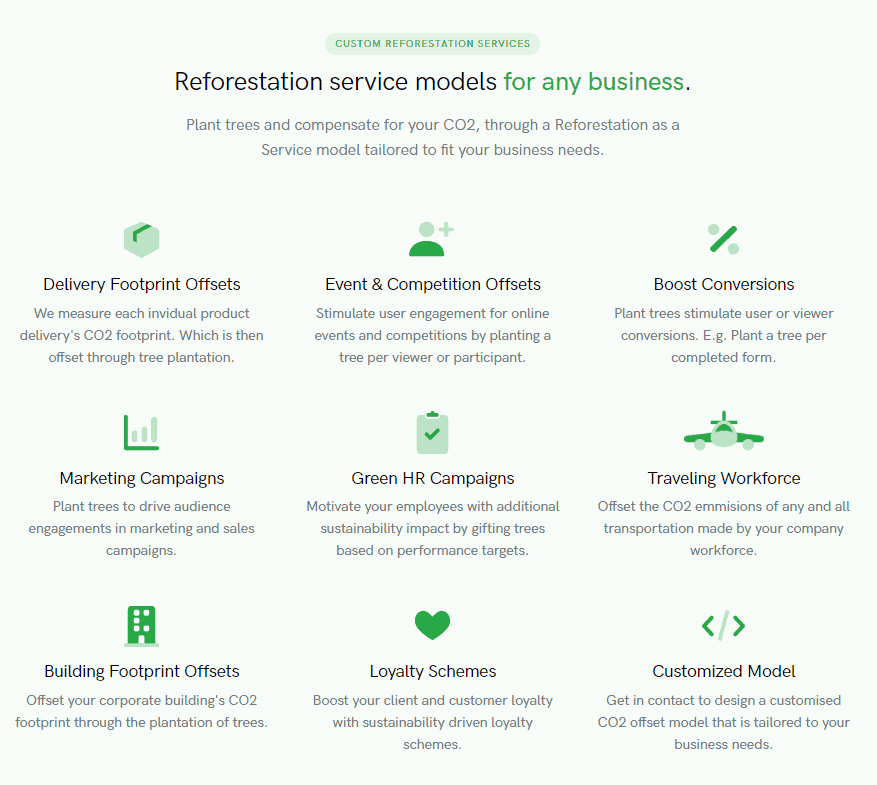Pay To Become Carbon Neutral - Forestmatic Startup Review 1