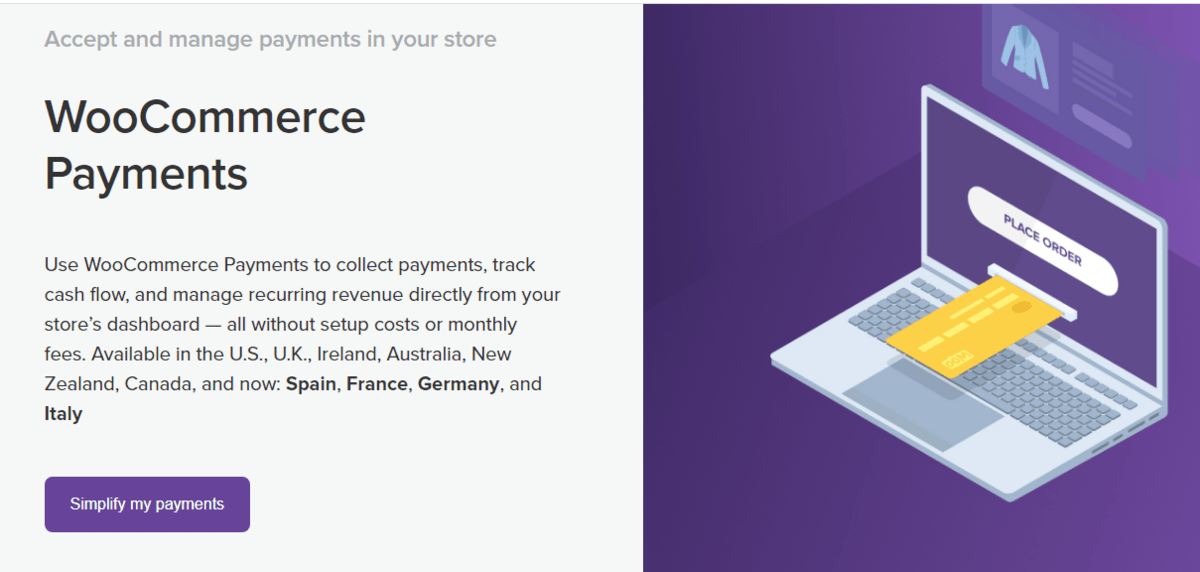 woocommerce payment
